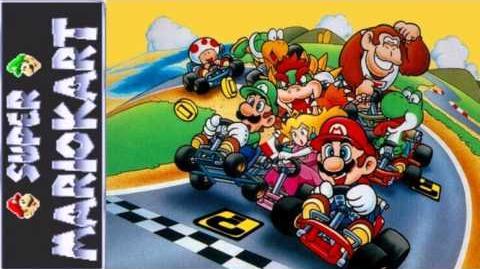 Super Mario Kart Rainbow Road