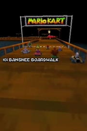 MarioKartDS N64BansheeBoardwalk