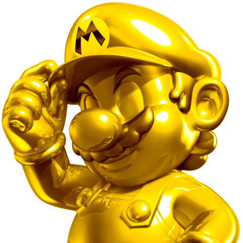 Sexy ass pose from Gold Mario.