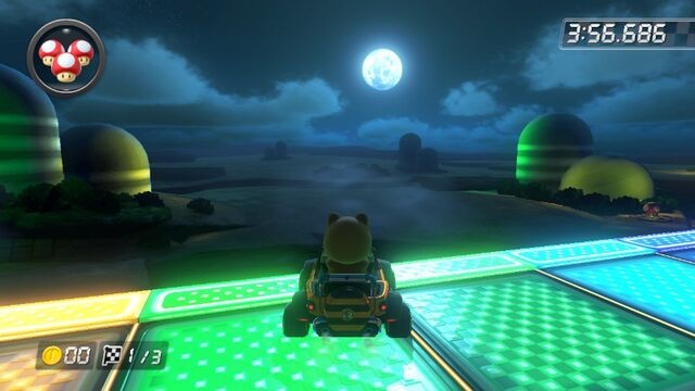 File:SNES Rainbow Road (Mario Kart 8) 5.jpg