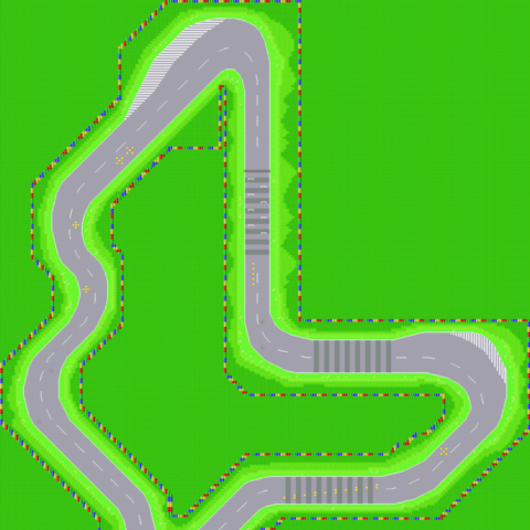 The Map of Peach Circuit
