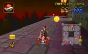 Dry Bowser playing Coin Runners