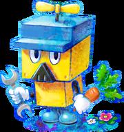 450px-Brickle Artwork - Mario & Luigi Dream Team