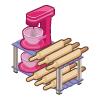 St kitchen baking