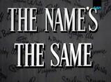 TheNamesTheSame