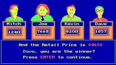 The Price Is Right - GameTek IJC Inc