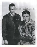 Warren Stevens and Peter Lawford