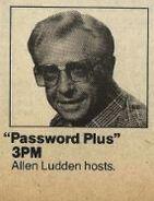 Password Plus TVGuide Ad
