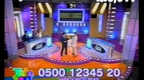 Vesgo e 'Silvio' no Family Feud 2005