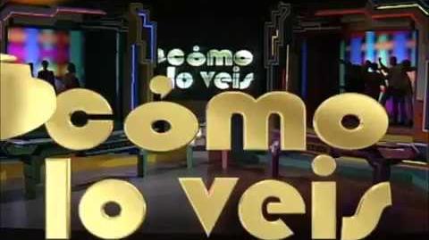 """Cabecera """"Cómo lo veis"""" (TVE 1994)"""