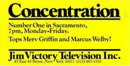 Concentration'77 Sacramento