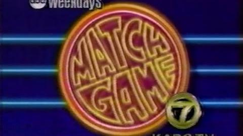 Match Game (1990) Game Show - Promo