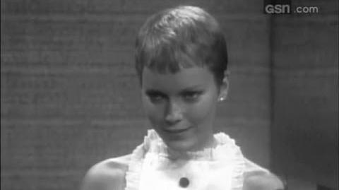 What's My Line? - Frank Sinatra, Mia Farrow; PANEL Phyllis Newman, Mark Goodson (Nov 27, 1966)