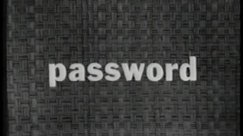 Password 1962 - CBS Prime time Debut