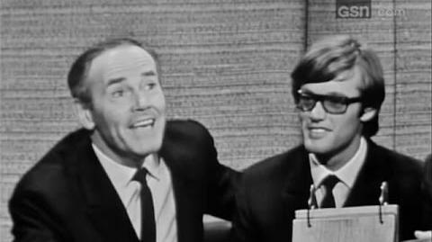 What's My Line? - David Merrick; Henry & Peter Fonda; PANEL C