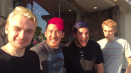 Mark Matt Cyndago Dyed Hair