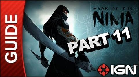 Mark of the Ninja - Mission 11 Set to Flight - Gameplay