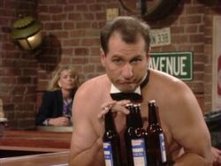 Married With Children Al on the Rocks - Bartender