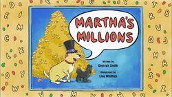 58a - Martha's Millions