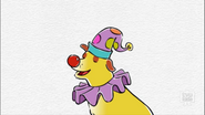 Martha as Clown