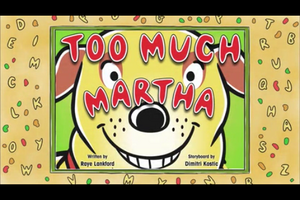 Too Much Martha Title