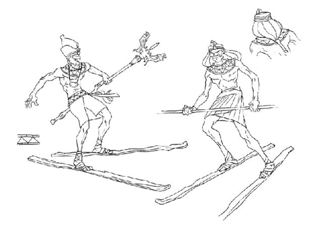 File:Martin Mystery - Pilot Episode - Concept Art (Character Design) by Nicolas Vergnaud - Pharaohs in Skis - 2.jpg