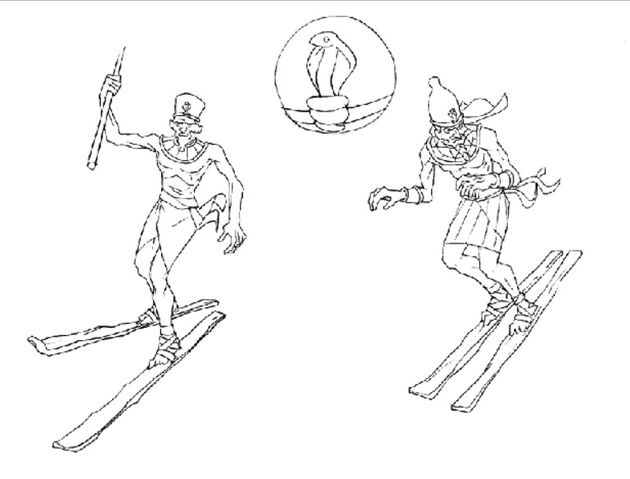 File:Martin Mystery - Pilot Episode - Concept Art (Character Design) by Nicolas Vergnaud - Pharaohs in Skis - 1.jpg