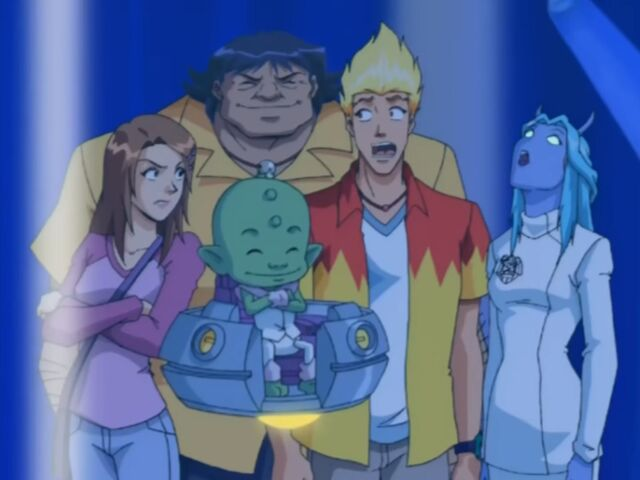 File:Martin Mystery - Nightmare of the Coven - Wendaloo with Martin, Diana, Java and Billy.jpg