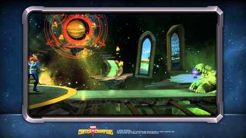 Doctor Strange Special Moves Marvel Contest of Champions
