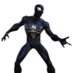 Spider-Man (Symbiote) featured