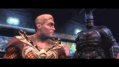 Injustice Gods Among Us Aquaman Trailer