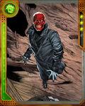 Dell Rusk Red Skull