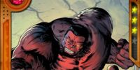 Staying Hot Red Hulk