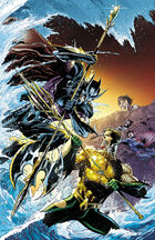 Aquaman vs. Orm for the fate of the surface world