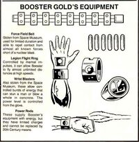 Booster Gold Equipment