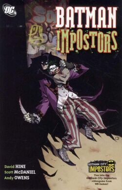 Cover for the Batman: Impostors Trade Paperback