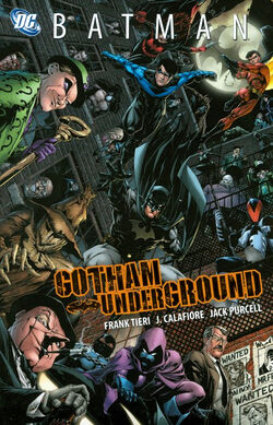 Cover for the Batman: Gotham Underground Trade Paperback