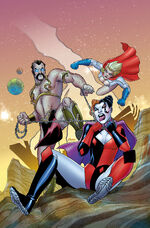 Harley Quinn and Power Girl Vol 1 3 Textless