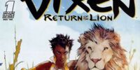 Vixen: Return of the Lion/Covers