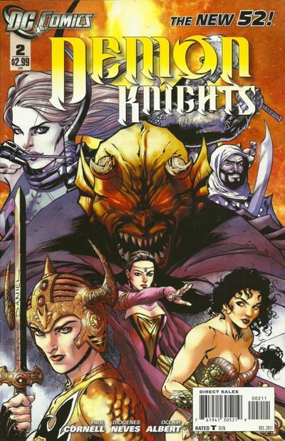 Resultado de imagem para Demon Knights Nº 2