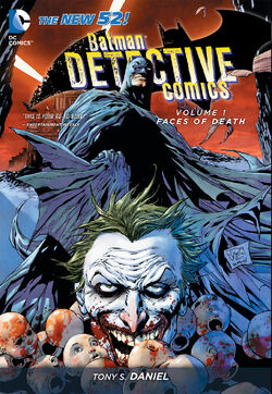 Cover for the Detective Comics: Faces of Death Trade Paperback