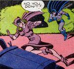 Batman chasing Catwoman