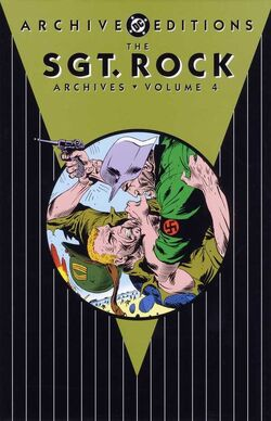 Cover for the Sgt. Rock Archives Vol. 4 Trade Paperback