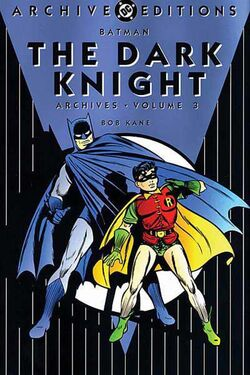 Cover for the Batman: The Dark Knight Archives Vol 3 Trade Paperback