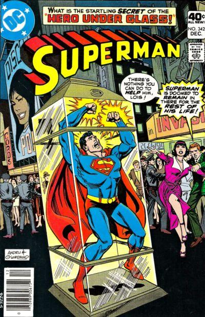 Superman Vol 1 342 Dc Database Fandom Powered By Wikia