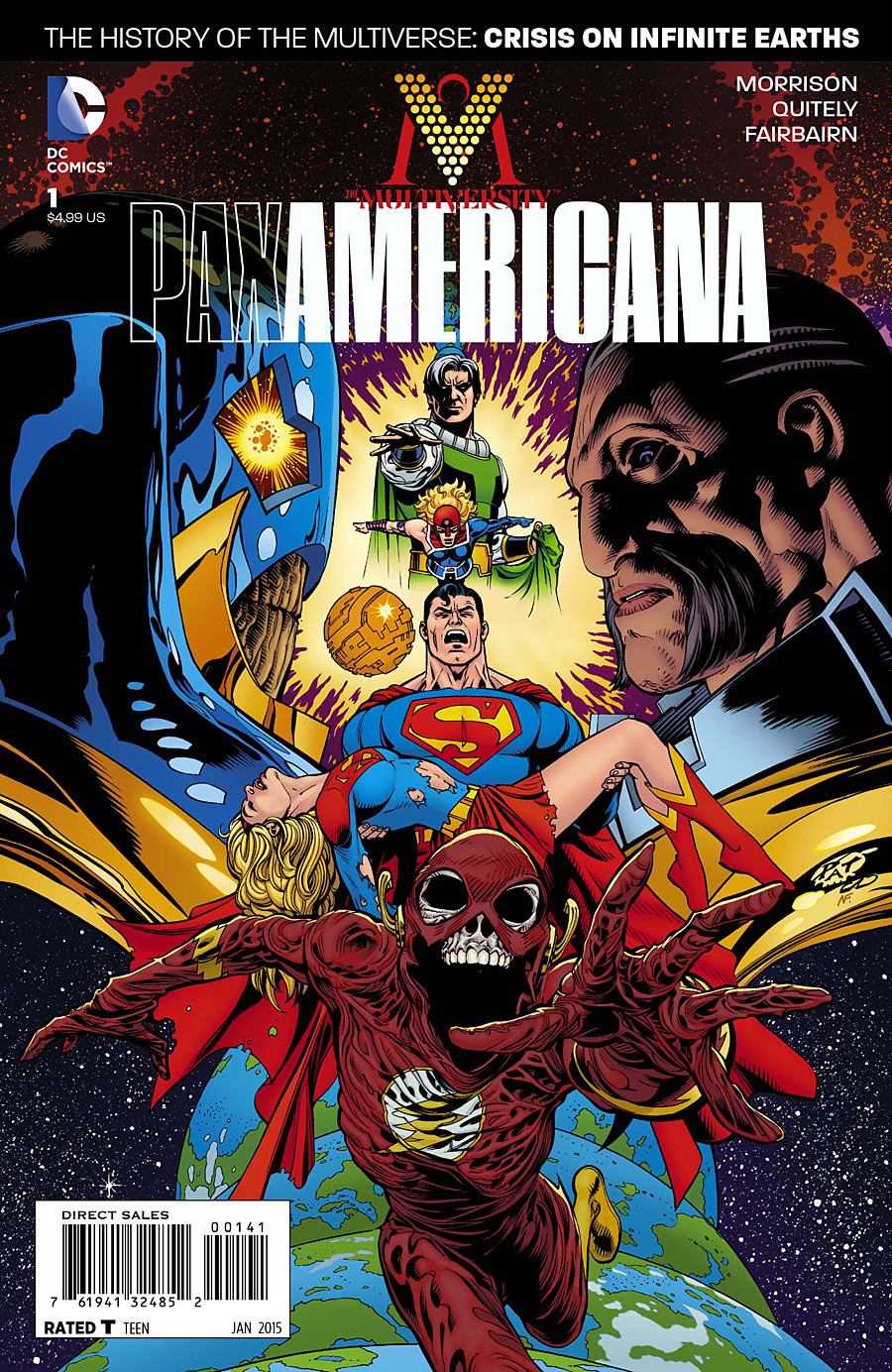 Image - The Multiversity Pax Americana Vol 1 1 Gleason Variant.jpg | DC Database | FANDOM powered by Wikia