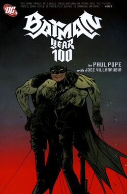 Cover for the Batman: Year 100 Trade Paperback