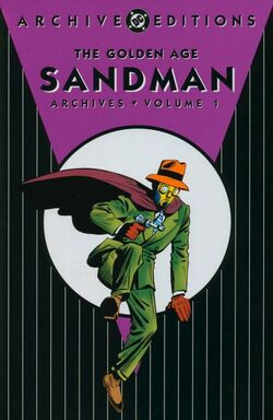 Cover for the The Golden Age Sandman Archives Vol. 1 Trade Paperback