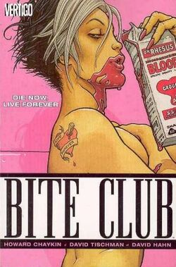 Cover for the Bite Club Trade Paperback