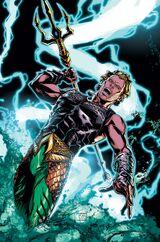Aquaman baring Poseidon's blessings